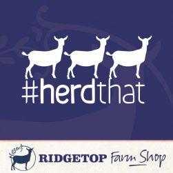 Ridgetop Farm Shop | Goat Herd That Vinyl Decal