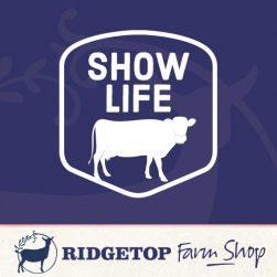 Ridgetop Farm Shop | Cow Show Life Vinyl Decal
