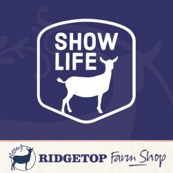 Ridgetop Farm Shop | Goat Show Life Vinyl Decal