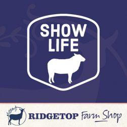 Ridgetop Farm Shop | Sheep Show Life Vinyl Decal