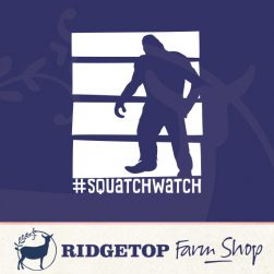 Ridgetop Farm Shop | Squatch Watch Vinyl Decal